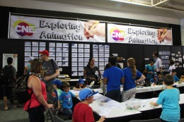 Exploring Animation – 2014 Summer Exhibit held at the CNE