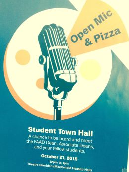 Students open up at Townhallmeeting